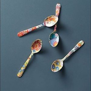 Anthropologie Teaspoons Set of 4